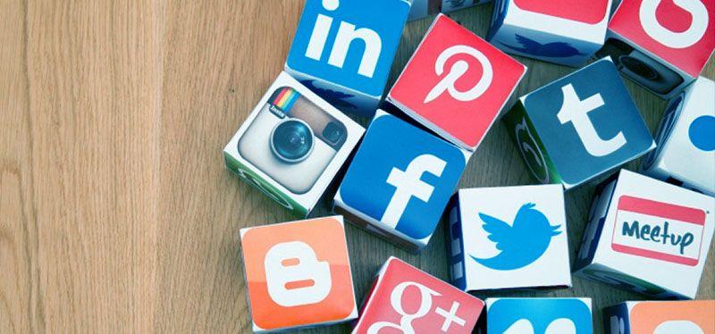 Nossas redes sociais!