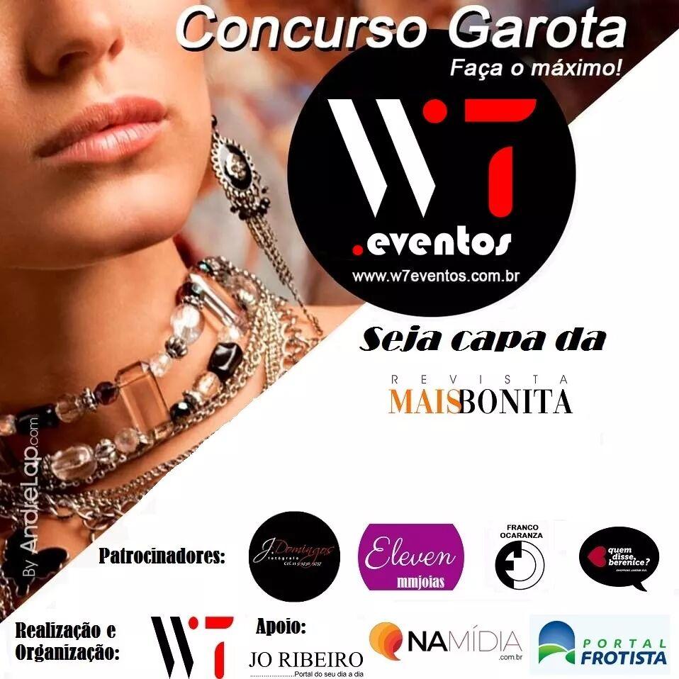 Concurso Garota W7 Eventos